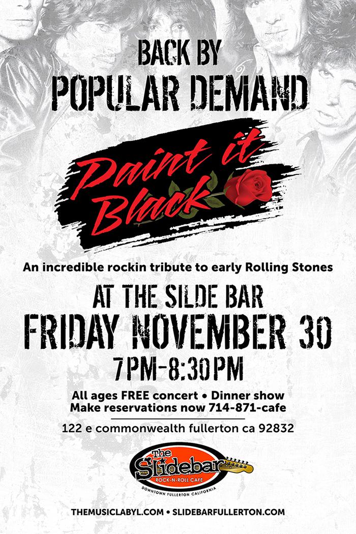 Paint It Black at the Slide Bar!