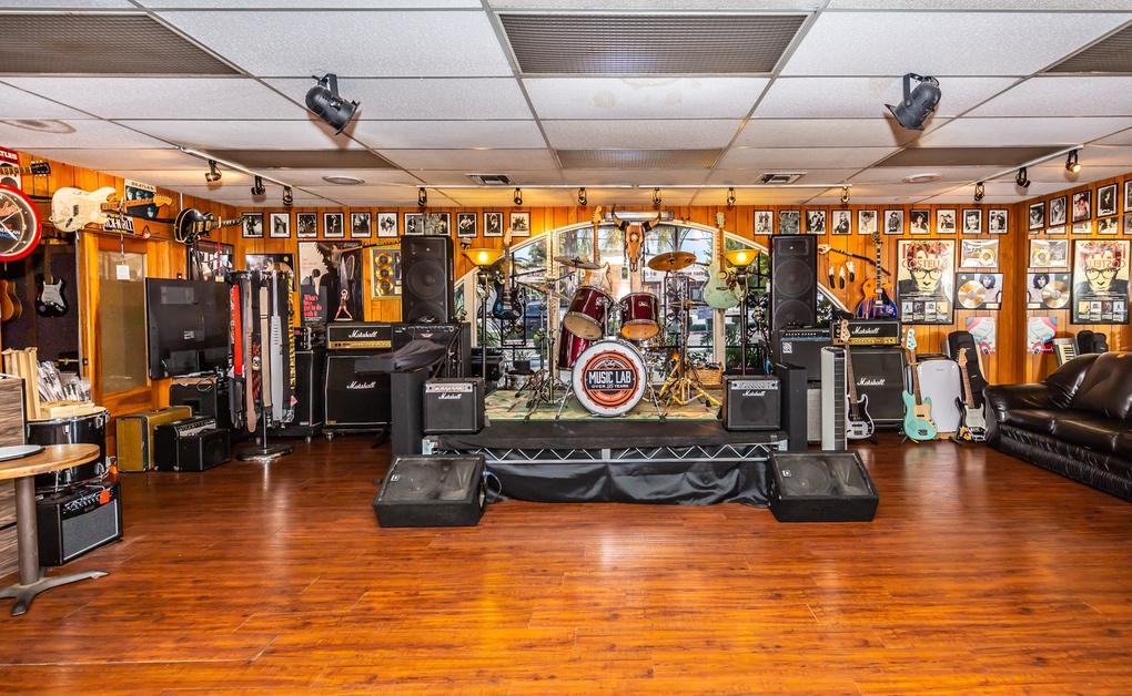music laboratory